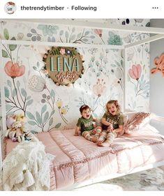 Big Girl Bedrooms, Little Girl Rooms, Girls Bedroom, Modern Kids Furniture, Kids Canopy, Girl Bedroom Designs, Bedroom Ideas, Nursery Room, Decoration