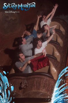 The 25 Greatest Pictures Ever Taken On Splash Mountain