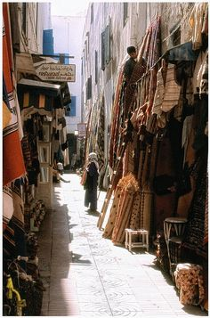 Medina in  Essauoira, Morocco