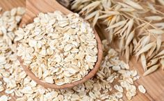 Oats 101: Nutrition Facts and Health Benefits---Oats in Wooden Spoon