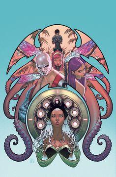 X-Men Cover Art