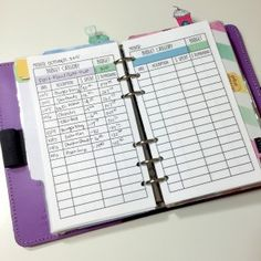 Personal & Business Financial Filofax Sections + Free Printables - Wendaful