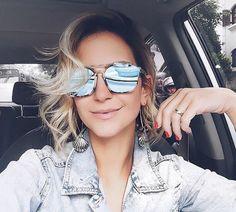 Amamos óculos espelhados e você?! ❤️ @lilipaiva apostou no #Dior Abstract  #linda #oticaswanny #blogguer #fashion