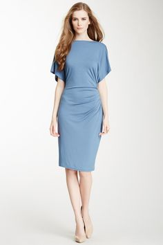 Ruched Side Dress