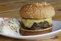Grilled Griddled Cheeseburger
