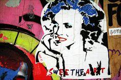 SWEET THE ART by URBAN ARTefakte, via Flickr  Mr. Fahrenheit