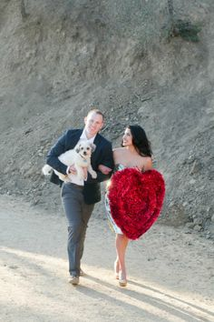 Valentine's Day love shoot in the Hollywood Hills | Photo by Carissa Woo