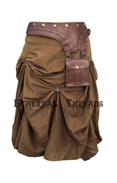 Ethereal threads Steampunk skirt