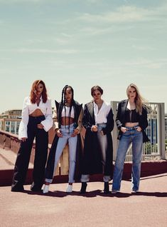 Little Mix Is Ready To Be Gen Z's Spice Girls With Little Mix decided to take a stand in favor of feminism, in favor of body positivity, in favor of equality — in favor of women's rights. Little Mix Girls, Little Mix Outfits, Little Mix Style, Little Mix Fashion, Jesy Nelson, Perrie Edwards, Spice Girls, Dvb Dresden, My Girl