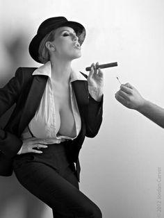 Serious? Cigar store milf