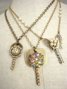 Love to do designs on old key well you should give this design a try and also you can turn your design into a necklace when your finish