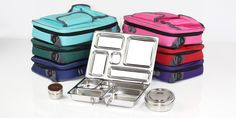 Planetbox - food-grade stainless steel lunchboxes for kids (& grownups, too!).  We bought these for our kids two years ago.  I practically choked on the price, but we have saved so much money on tupperware and lunch baggies.  Plus, they are still in great condition - totally worth the investment.