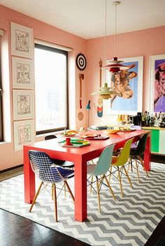 Best Picture of Colorful Apartment Decor . Colorful Apartment Decor Meet The Ceo Who Mixes Bold Colors Like A Boss And Poses Like Tyra