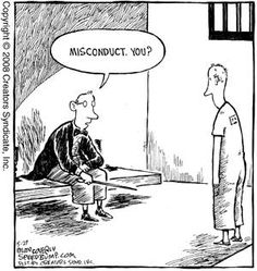 The crime of all conductors....misconduct
