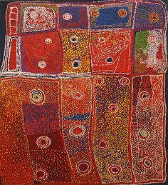 More aboriginal art. I love the colors and composition. Very organic.