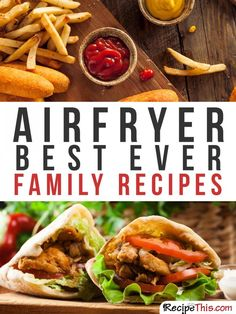 101 Philips Air Fryer Recipes For The Complete Beginner - 101 Philips Airfryer Recipes For The Complete Beginner Phillips Air Fryer, Nuwave Air Fryer, Cooks Air Fryer, Air Fryer Oven Recipes, Air Fried Food, Carpaccio, Recipes For Beginners, Family Meals, Family Recipes