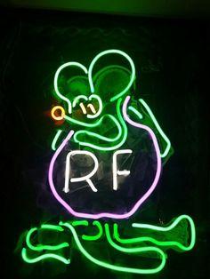 fef63252819d48 Rat Fink Ratrod Neon Sign Real Neon Light Z1335