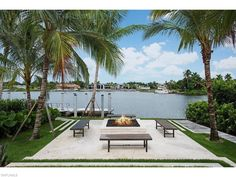 1650 Galleon Drive - Fire Pit - Port Royal - Naples, FL - $20,950,000 US