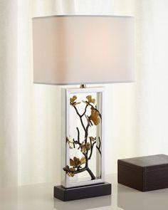 Butterfly Ginkgo Table Lamp, Gold - Michael Aram