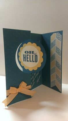 stampin up thinlets card - Google Search