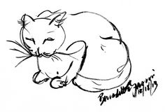 Daily Sketch: Mewsette Supervises