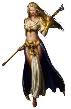 Resultado de imagen para high elf wizard female