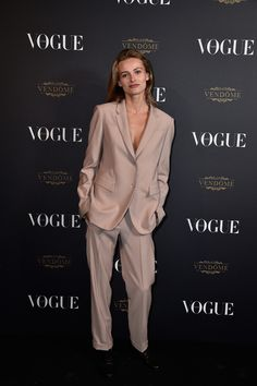 Edita Vilkeviciute costume soirée Vogue Paris 95 ans http://www.vogue.fr/mode/inspirations/diaporama/la-soire-des-95-ans-de-vogue-paris/22911#edita-vilkeviciute