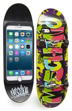 Moschino+Skateboard+iPhone+6+Case+available+at+#Nordstrom