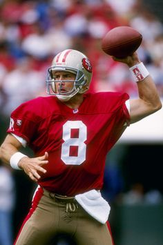 Steve Young (QB) 49ers - First Year: 1984 - 16 seasons - Drafted: Round 1, Pick 1
