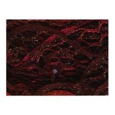 #6: Katia Triana Lux Wine Raspberry 32 Ruffling Scarf Yarn