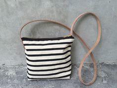 canvas mini handbag