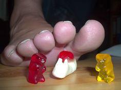 big toes and Gummiebears Round 2 by Netsrot1971.deviantart.com on @DeviantArt