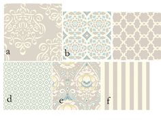 Custom 2 piece Baby Bedding Set--Crib Skirt & Sheet (Taza Neutral). $190.00, via Etsy.