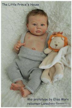 Молд для куклы реборн Mio, скульптор Elisa Marx
