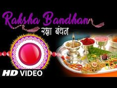 Raksha Bandhan song- This is the day that every brother and sister waits for the whole year. Bahi ties a beautiful rakhi on her brother's wrist. Raksha Bandhan Songs, Festivals Of India, Rakhi, Her Brother, Hd Video, Ties, Beautiful, Tie Dye Outfits, Neck Ties