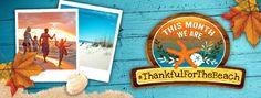 Thanksgiving at the Beach! Panama City Beach, Florida