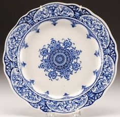 need blue and white china   House