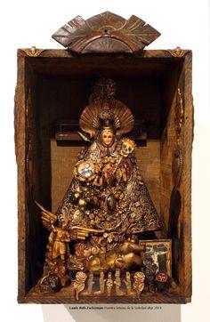 Nuestra Senora de la Soledadaltar, Vivid Conversationsexhibition 2014, by Laurie Beth Zuckerman - ICONARTE