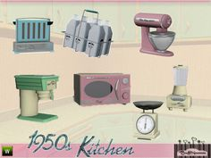 BuffSumm's 1950s Kitchen Part 2