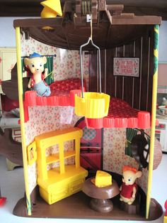 Tracy's Toys (and Some Other Stuff): Remco's Elly and Andy Baby Mouse Tree House
