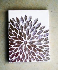 Sassy Girl: DIY Foil Art!