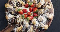 Γεμιστή σφολιάτα με σοκολάτα από τον Άκη Πετρετζίκη. Φτιάξτε την πιο εύκολη σοκολατόπιτα με φύλλο σφολιάτας και γέμιση από κουβερτούρα και αμύγδαλα!