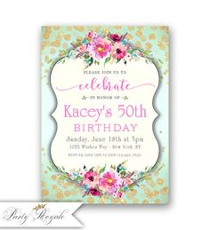60th Birthday Invitations Boho Feathers Sixty 60 Years Old