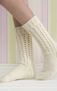 Nordic Yarns and Design since 1928 Crochet Socks, Knitting Socks, Hand Knitting, Knit Crochet, Knit Socks, Warm Socks, My Socks, Yarn Colors, Couture