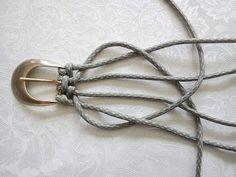 Tutorial For Weaving A Belt Do-It-Yourself Ideas
