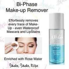Enriched with Rose Water and Vitamins. Bi-Phase formula quickly removes all types of makeup. Instructions for use: Remove any contact lenses before using. Shake well. Apply a product to a cotton pad and / or cotton swabs, gently sweep eye and lip areas to remove all traces of makeup. Rinse with warm water. #skincare #makeup #face #MakeupMajesty #Actilabs https://acti-labs.com/me/kimberly-dean/