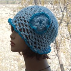 Check out this item in my Etsy shop https://www.etsy.com/listing/493807996/crochet-flapper-hat-lace-womens-hats-sun