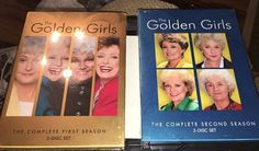 The Golden Girls - The Complete First And  Second Season (DVD, 2005, 3-Disc Set)