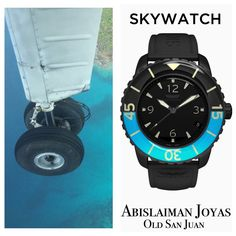 Be the Eye in the Sky. #skywatch 🌎#adventure 🛩 #pilot #fly #airplane #travel ⛵️ #sail #dive 🏊🏼‍♀️ #surf 🏄🏻 #watches #oldsanjuan 🏝 #puertorico ☀️ #swissmade Designed in California. Only $295.