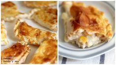 Receta de empanadillas de pollo y maíz para toda la familia. Deliciosa receta de empanadillas con fotos paso a paso de su elaboración y presentación